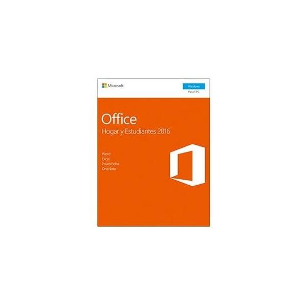 Microsoft Office 2016 Hogar y Estudiantes